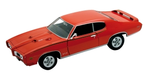 Model auta w skali 1:24 Dromader Welly 1969 Pontiac GTO