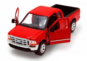 Model auta w skali 1:24 Dromader Welly Ford F-350 Pick up