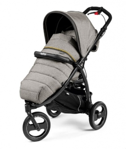Wózek spacerowy Peg-Perego BOOK CROSS COMPLETO LUXE GREY