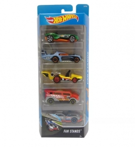 Autka Hot Wheels pięciopak Mattel DVF94 Fan stands