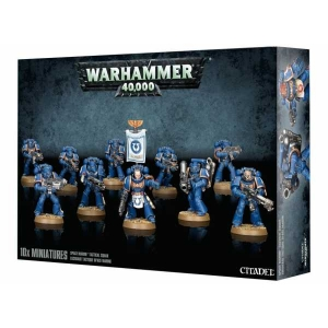 Figurki Warhammer 40000 Space Marines Tactical Squads  48-07
