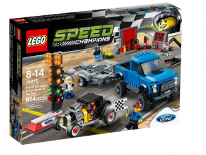 Lego Speed Champions Ford F-150 Raptor I Ford Model A HOT ROD 75875