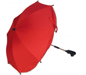 Parasol z filtrem UV Kees 2017 kolor red