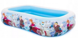 58469 INTEX BASENIK DMUCHANY FROZEN 262X175X56 CM