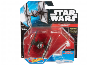 Statek kosmiczny Hot Wheels Frist Order Tie Fighter Star Wars DJJ61 Mattel CGW52