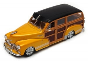 Model auta w skali 1:24 Dromader Welly Chevrolet Fleetmaster 1948