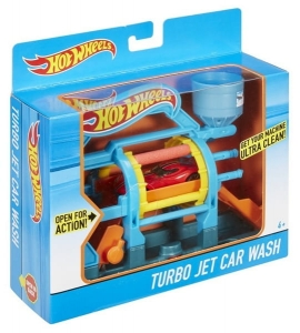 Hot Wheels Turbo myjnia Mattel DWL00 DWK99 4+