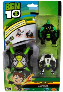 Ben 10 Omnitrix Omni Transform z 2 figurkami 76790 Epee 4+ Mix wzorów