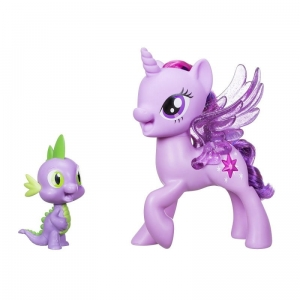 My Little Pony Movie C0718 Śpiewająca Twilight + Spike Hasbro
