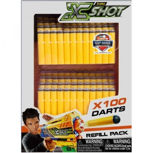 ZURU X Shot Excel Darts 100 Pack 5639