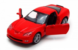 Model auta w skali 1:24 Dromader Welly  2007 Chevrolet Corvette Z06