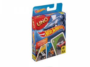 Karty Uno Hot Wheels BGG53 Mattel
