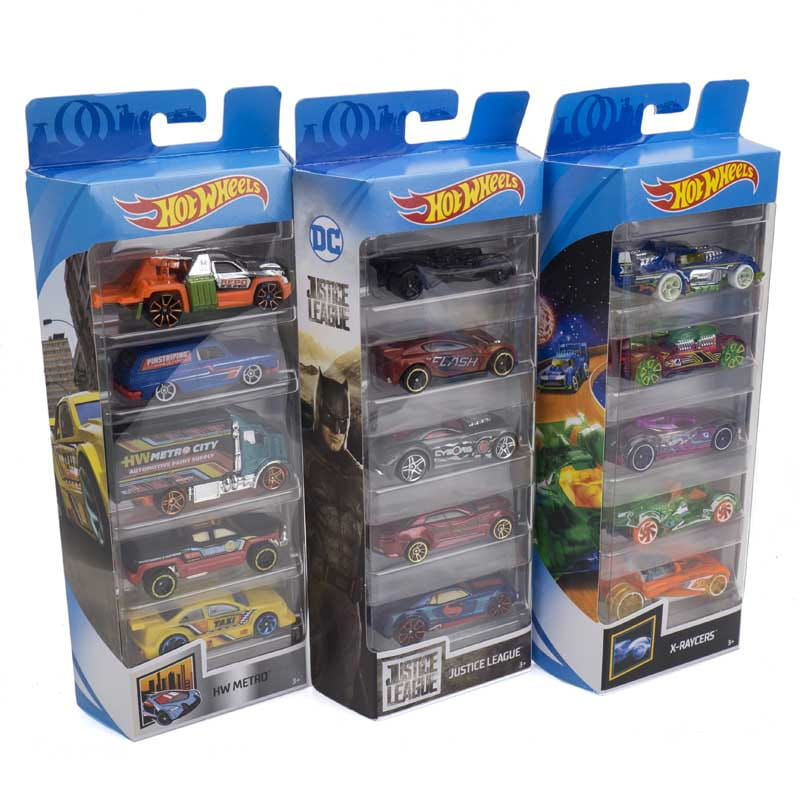 06aa1b4185624 ... Hot Wheels Zestaw autek 5-pak 01806 Mattel 3+ Mix wzorów (2) ...