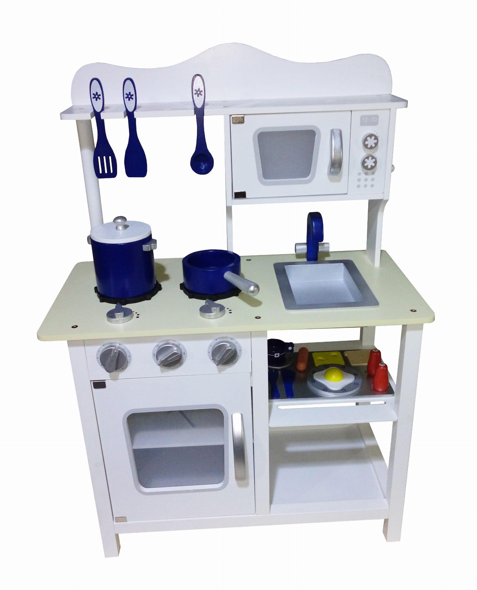 Drewniana Kuchnia Dla Dzieci Classic Wooden Toys W10c045 Biala 3
